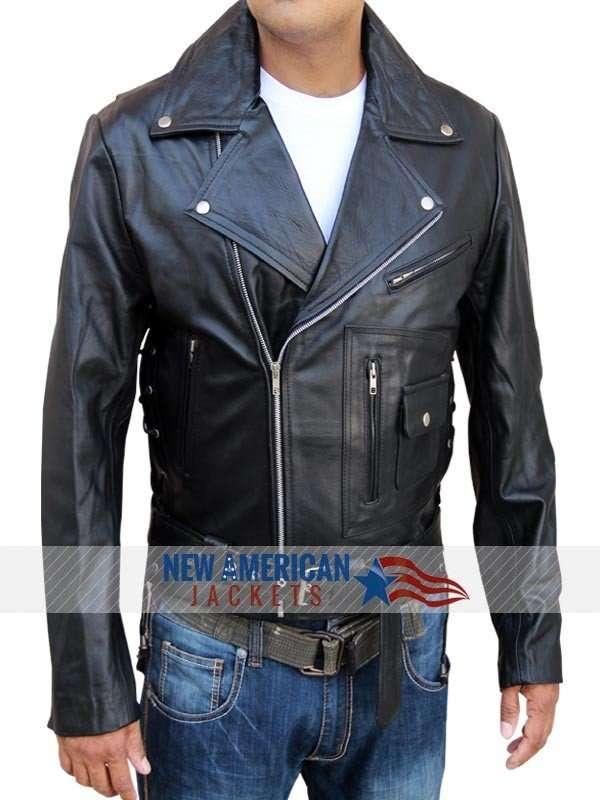 Terminator jacket arnold schwarzenegger leather jacket thecheapjerseys Choice Image