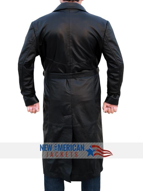 Eric Draven the Crow Trench Leather Coat