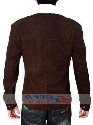 Rick Grimes Season 4 Suede Jacket