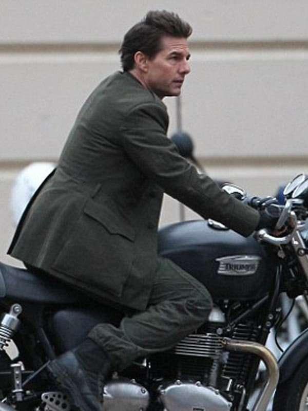 Tom Cruise Military Green Jacket