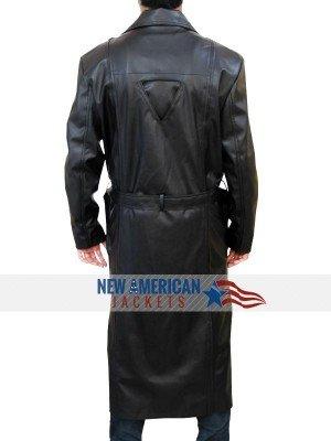 Blade Leather Trench Coat