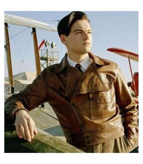aviator-leonardo-dicaprio-brown-jacket