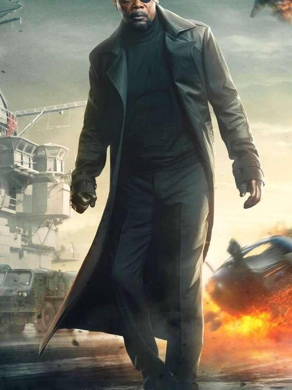 Captain America Nick Fury Coat