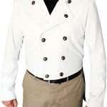 white Yuma Charlie Prince Jacket