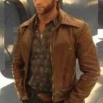 x men days of future past hugh jackman wolverine leather jacket