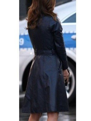 A TEAM JESSICA BIEL COAT back