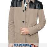 Ansel Elgort cotton Jacket