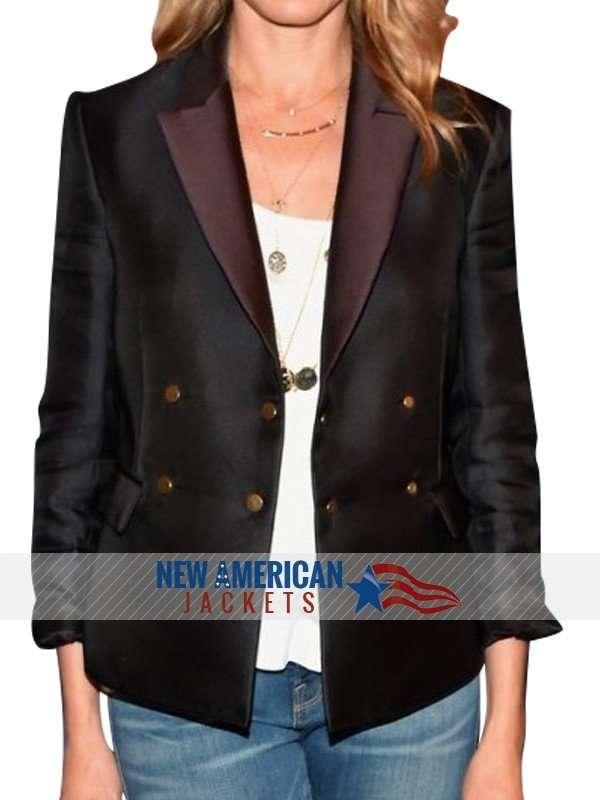 Black Cameron Diaz Jacket Coat