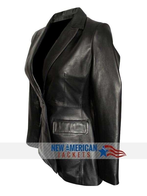 Captain America Scarlett Johansson Jacket