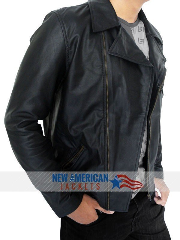 James Franco real leather Jacket