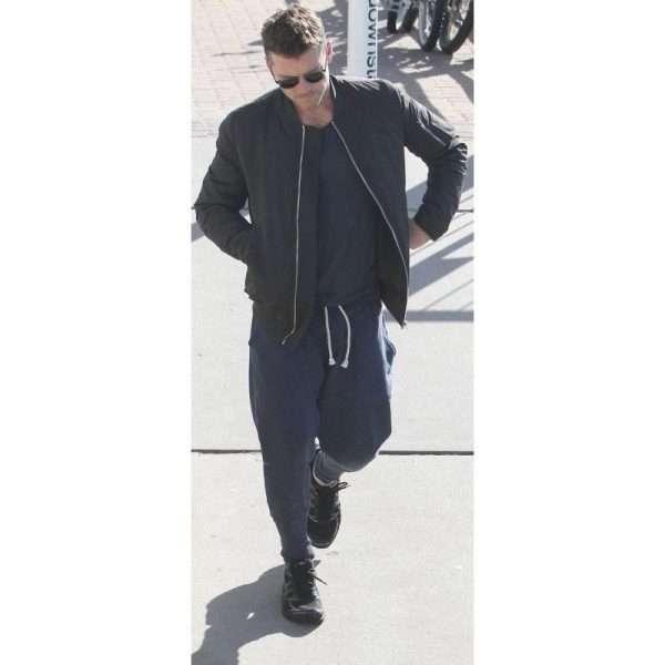Sam Worthington bomber jacket