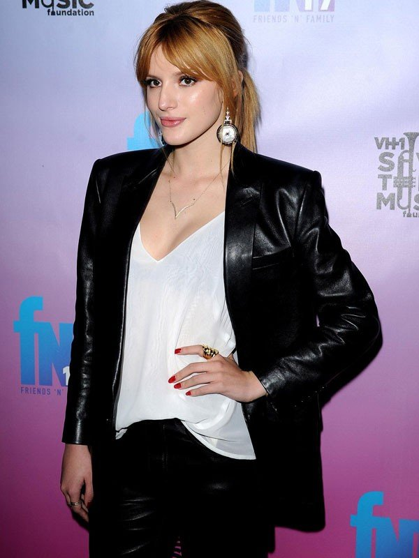 PRE-GRAMMY PARTY BELLA THORNE JACKET