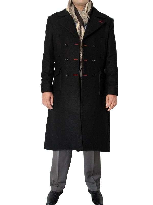 Holmes Coat Wool Cape