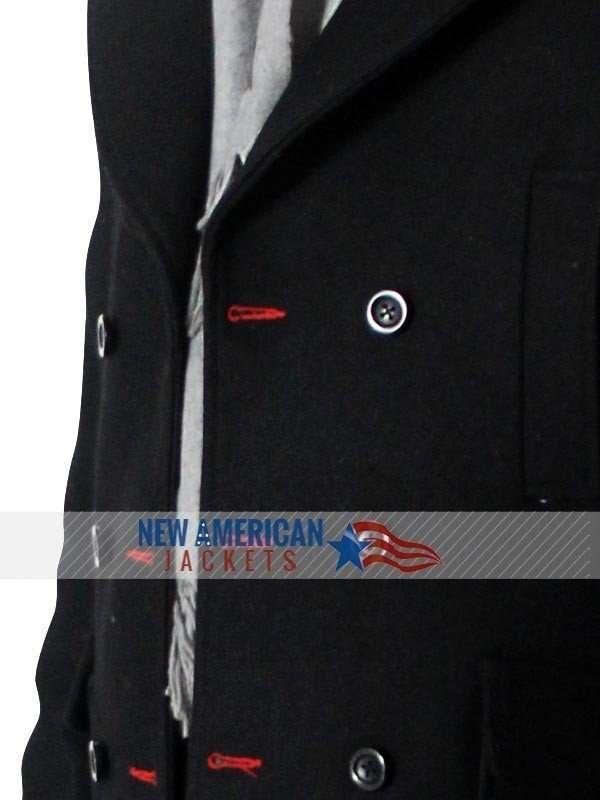 Sherlock Holmes wool cape Coat