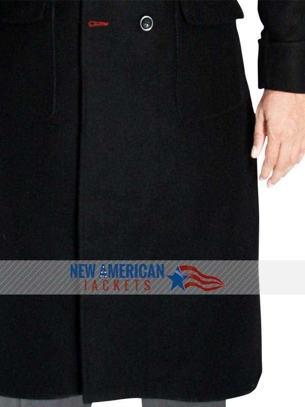Sherlock Holmes wool long Coat