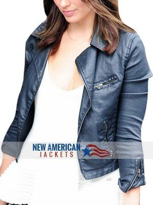 new Margot Robbie Leather Jacket