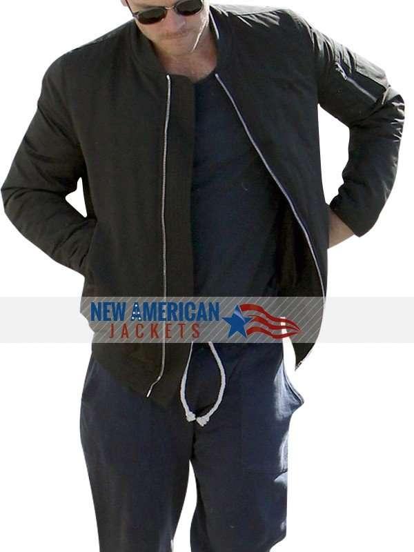 sam worthington cotton Jacket