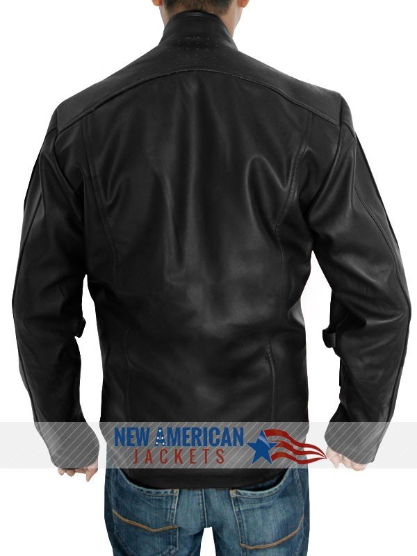 Chris Pratt Guardians of the Galaxy Jacket Black