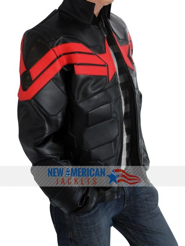 Black Captain America jackets