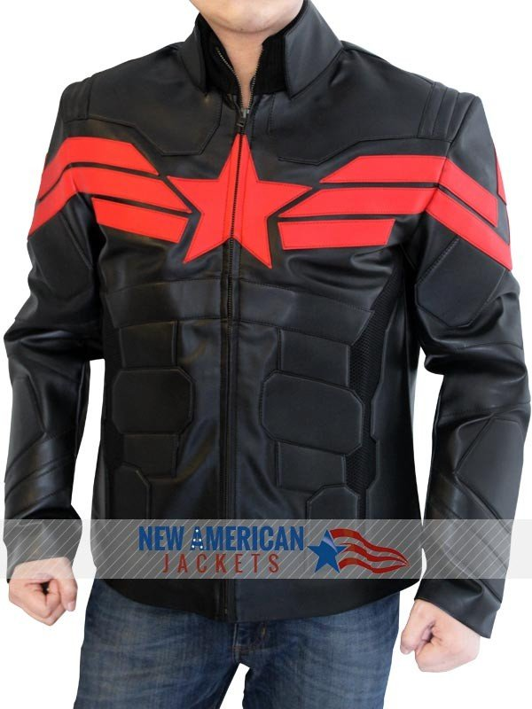 CAPTAIN AMERICA JACKET Black