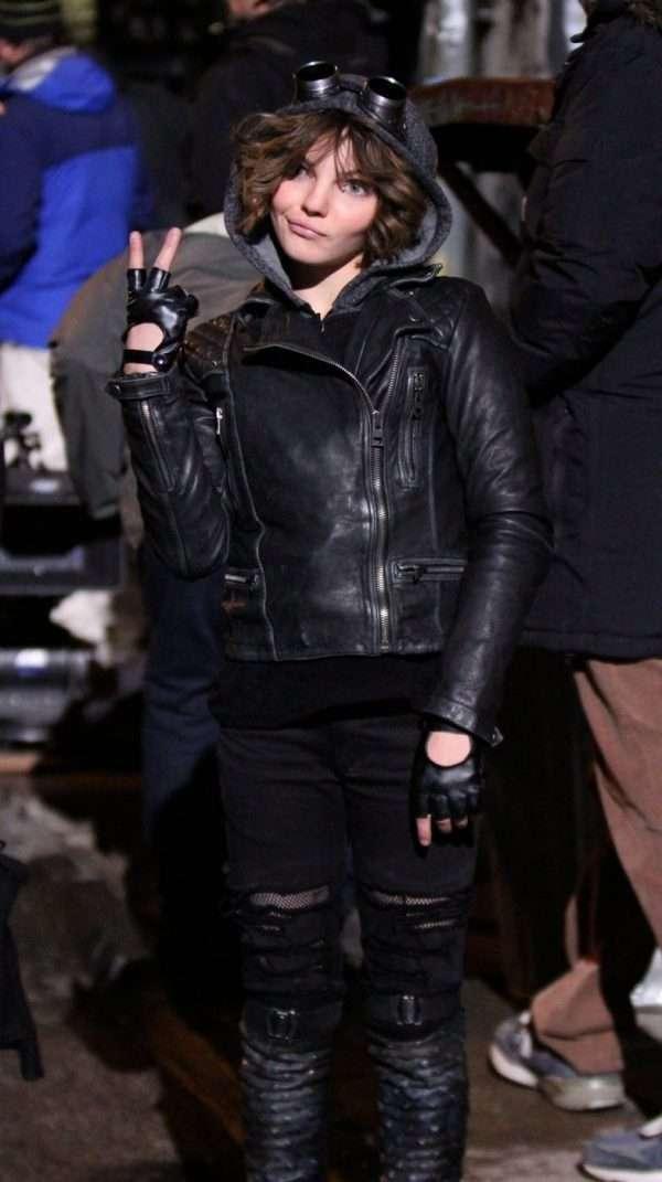 Camren Bicondova Gotham Leather Jacket