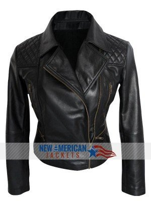Camren Bicondova Gotham Leather Jacket