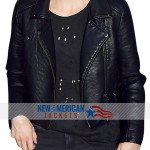 Moto Style Taylor Schilling leather Jacket