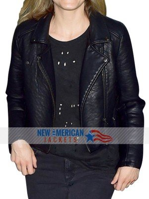 Moto Style Taylor Schilling leather Jacket