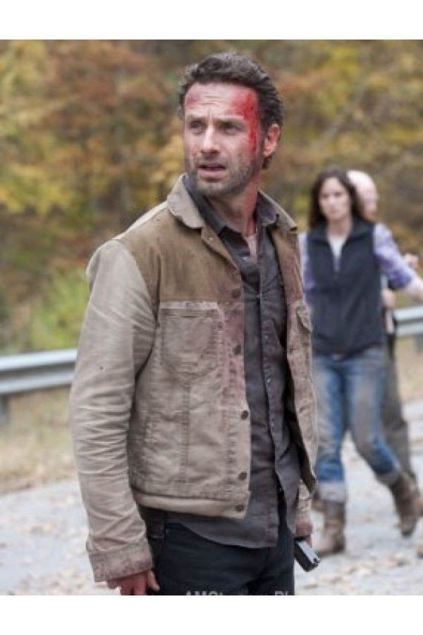 The Walking Dead Rick Grimes Denim Jacket