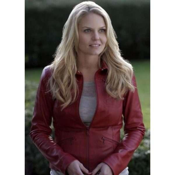 Emma Swan leather jacket