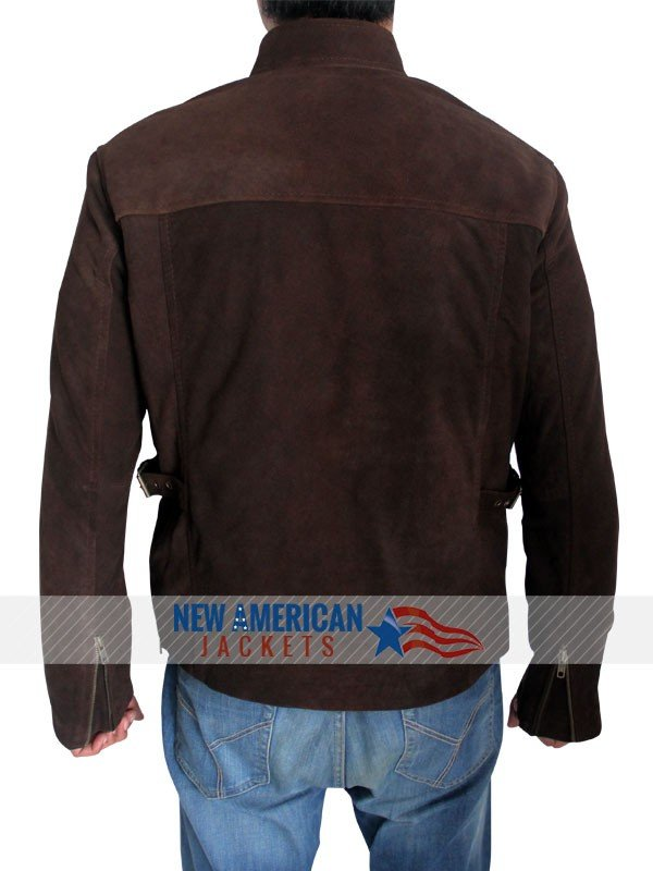 Mission Impossible 3 suede Leather Jacket