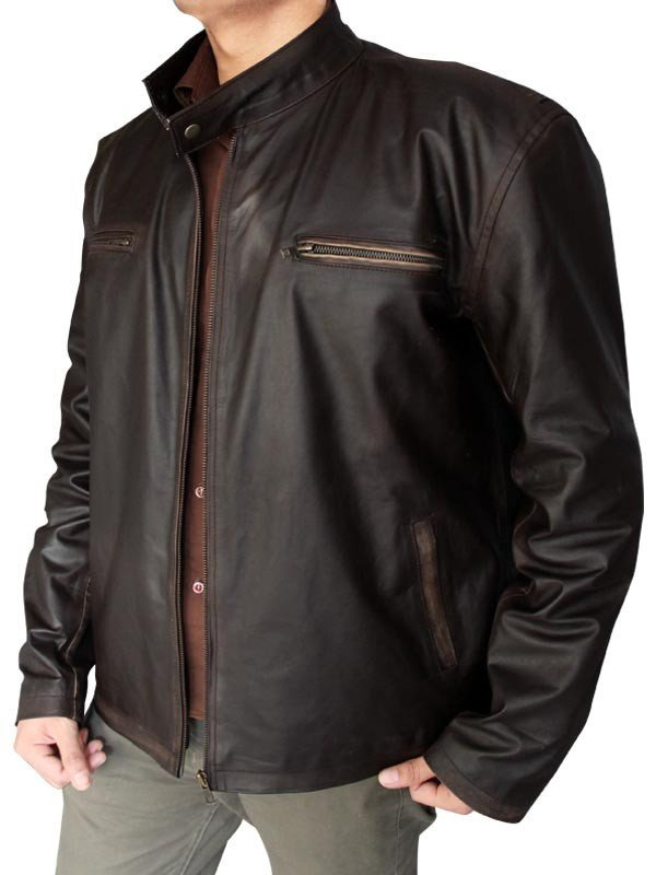 tommy gavin rescue me leather jacket
