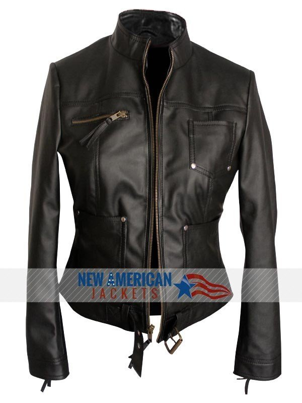 Emma Swan Brown Leather Jacket