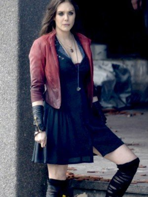 The Avengers 2 Olson Scarlet Witch Jacket