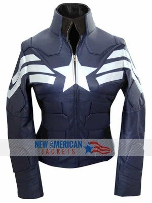 The Winter Soldier Captain America Jacket for women