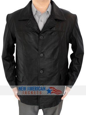 24 Series Jack Bauer Black Leather Jacket