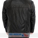 24 TV Series Jack Bauer Black Leather Jacket