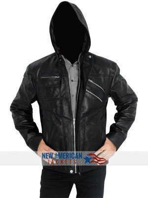 Coldplay Chris Martin Leather Jacket