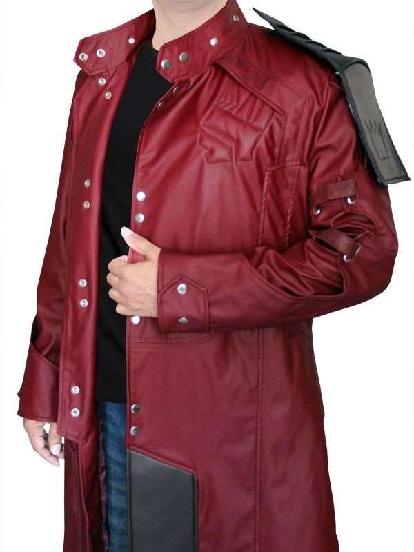 Chris Pratt Star Lord Guardian of the Galaxy Coat