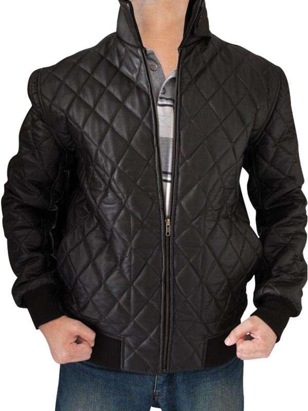 Ride Along Leather Jacket | Kevin Hart jacket