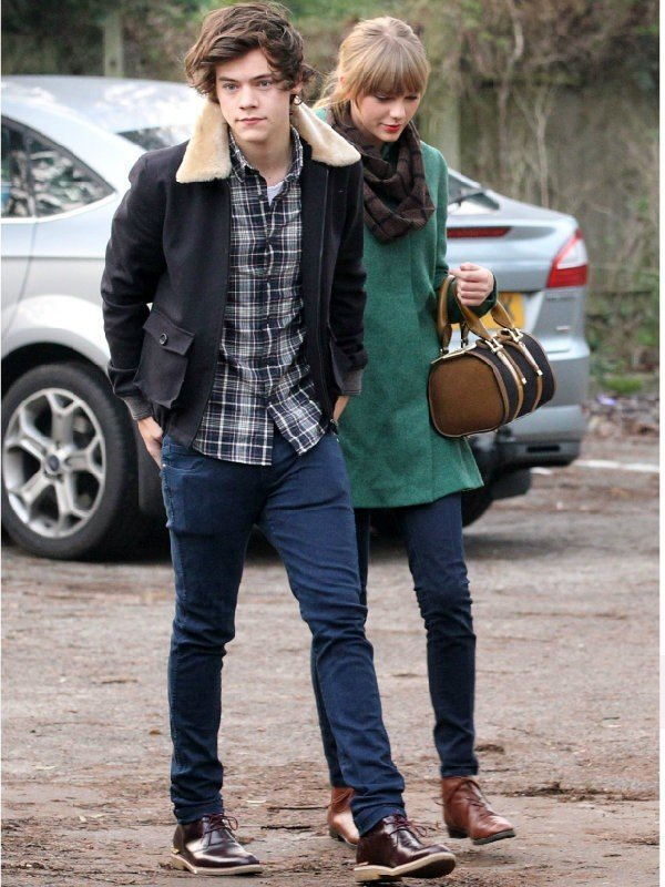 Taylor Swift and Harry Styles cotton Jacket