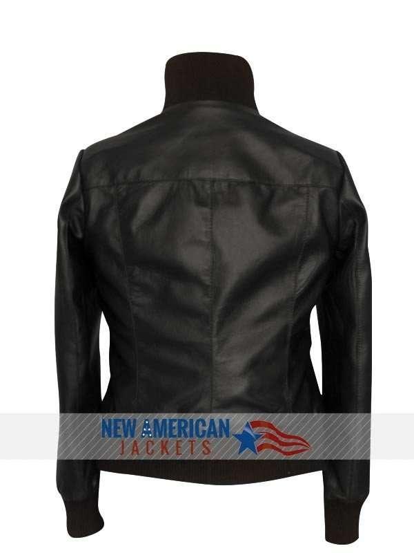 The Flash Plastique Bette Sans Souci leather jacket