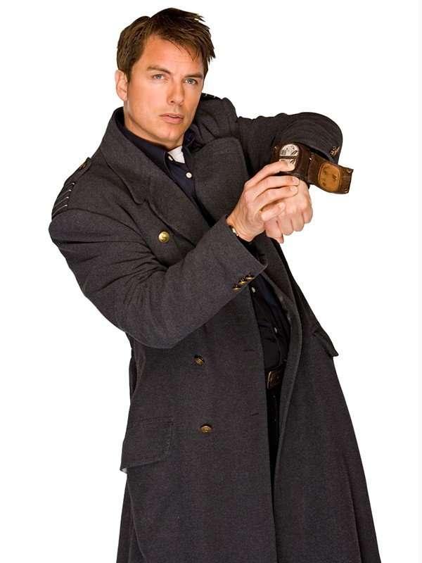 captain jack harkness wool coat