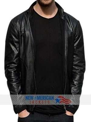 Adrian Grenier dj Calvin Harris jacket