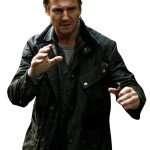 Bryan Mills Liam Neeson Tak3n Leather Jacket