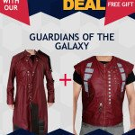 Guardian of the Galaxy Star Lord Costume Coat Vest Deal
