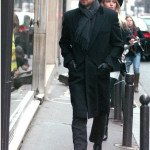 Paris Aaron Paul Coat