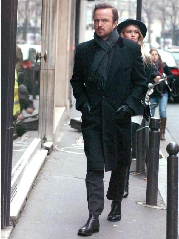 Paris Aaron Paul Coat