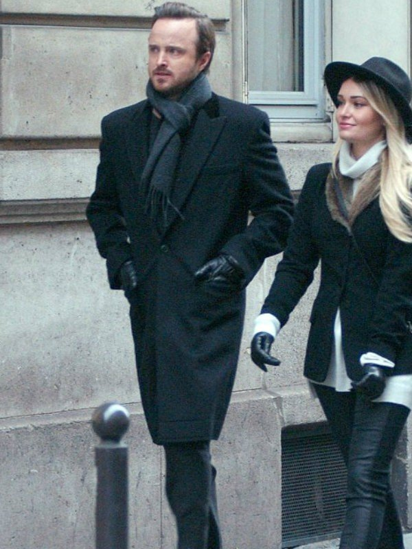 Paris Aaron Paul wool Coat