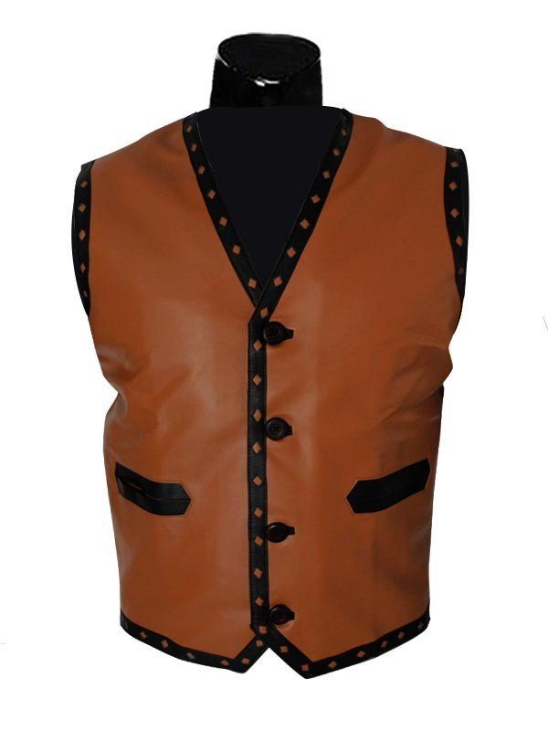 The Warriors Movie Michael Beck Leather Vest